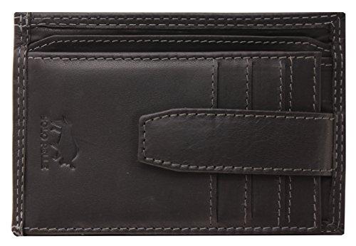 Solo Pelle vintage portemonnee gemaakt van leer Model: 5086 Slimfit