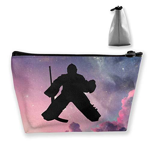 Hockey Goalie Sac de maquillage portable grande capacité