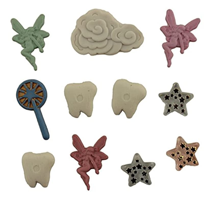 Buttons Galore Childhood Tooth Fairy Assorted Sizes Buttons
