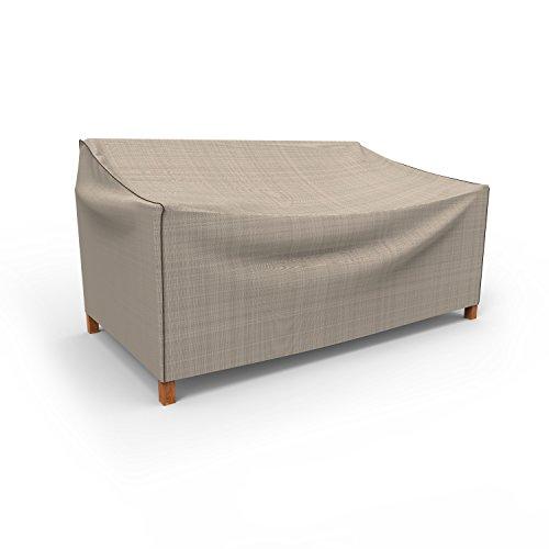umwirft English Garden Medium Outdoor Sofa Bezug p3W02pm1, Tan Tweed (37H x 79W x 37D)
