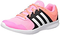 adidas Essential Fun 2, Women's Running Shoes, Black (Negbas / ftwbla / rosimp), 40 2 / 3 EU (7 UK)