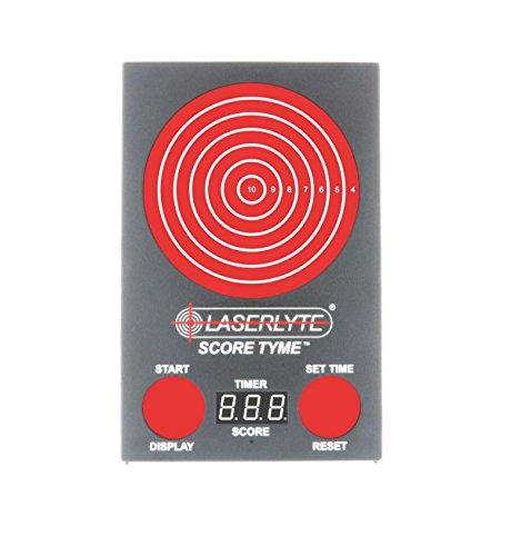 """LaserLyte Trainer Score TYME Entrenador láser, Unisex Adulto, Multi, Height: 13\"""" Width: 8.75\"""", Depth 1.5\"""""""