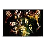 Buffy The Vampire Slayer Drama TV Leinwand Poster Wandkunst