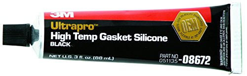 3M High Temp Black Silicone Gasket