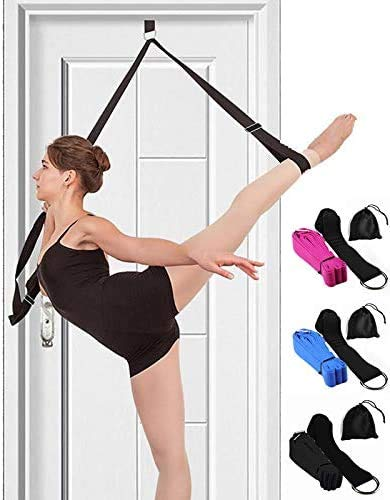 Leg Stretcher Band on Door - Get More Flexible - Ballet Yoga Pilates Flexibility Trainer To Improve Leg Stretching - Perfect Home Portable Equipment For Dance Gymnastic Exercise taekwondo & MMA (Misc.)