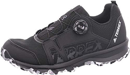 adidas Terrex Agravic Boa K, Zapatillas Deportivas, Core Black FTWR White Grey Three F17, 34 EU