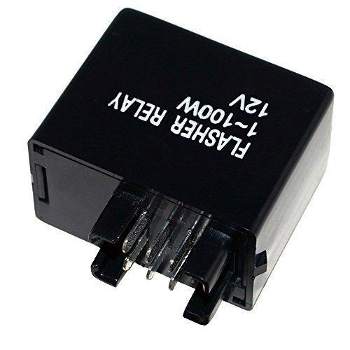 LED Blinker Relais DR-Z 400 E S SM 2000- Blinkgeber 7 polig