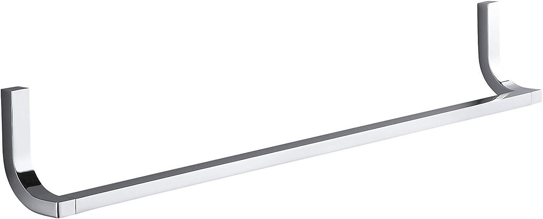 Kohler K-11581-CP Loure 24  Towel Bar, Polished Chrome