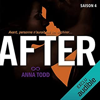 After. Saison 4                   Written by:                                                                                                                                 Anna Todd                               Narrated by:                                                                                                                                 Bénédicte Charton                      Length: 10 hrs and 47 mins     Not rated yet     Overall 0.0