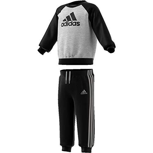 adidas Crew Jogger Chándal, Unisex Infantil, (brgrin/Negro), 6-9M