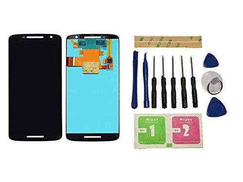 Flügel for Motorola Moto X Play XT1562 XT1563 Display LCD Ersatzdisplay Schwarz Touchscreen Digitizer Bildschirm Glas Assembly (ohne Rahmen) Ersatzteile & Werkzeuge & Kleber