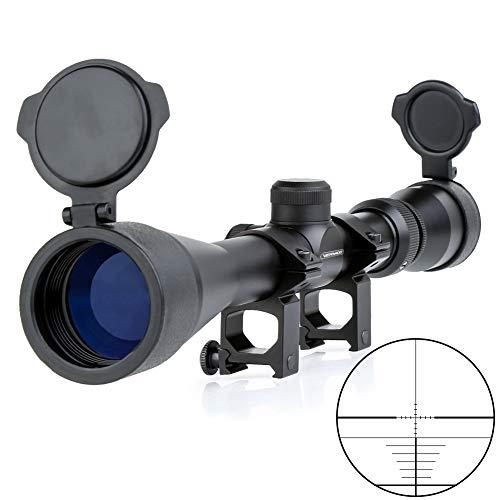 Very100 ライフルスコープ 3-9X40mm スナイパーライフル 3~9倍ズーム 20mm対応 マウントリング付属 バトラーキャップ付き 窒素ガス充填 防霧対応 防水 防振 サバゲー 狩猟 実銃対応 VSR-10 L96等に