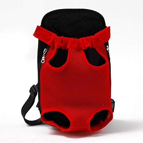 NOBRAND Netz-Rucksack für Hunde und Katzen, atmungsaktiv, Camouflage-Material
