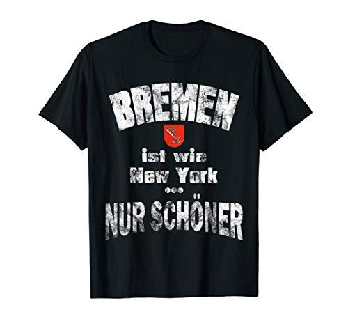 Bremen T-Shirt Heimat Stadt Geschenkidee Lustig