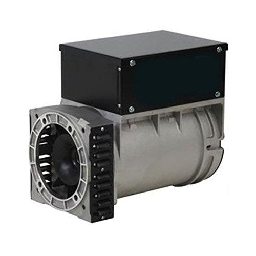 ALTERNADOR MECC ALTE TRIFÁSICO 220/380V 10 KVA A 3000 RPM (PANEL CON ENCHUFES Y BREAKER)