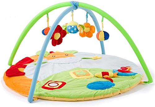 Toy pad Baby speelmat zachte baby Game Deken Game Pad kruipen mat Crawling Deken puzzel Toy Full Moon Gift gemakkelijk schoon te maken (Kleur: Multi-gekleurde, Size: 95x95x50cm)