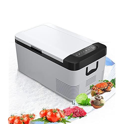 XIAOLIN Mini Refrigerador De 18 Litros 12 / 24v Refrigerador Para Coche Camping Portátil Camping Congelador Camión Eléctrica Caja De Fresco Para Campervan Rv Picnic De Viajes, -20 ℃ A 20 ℃ / Bajo Cons