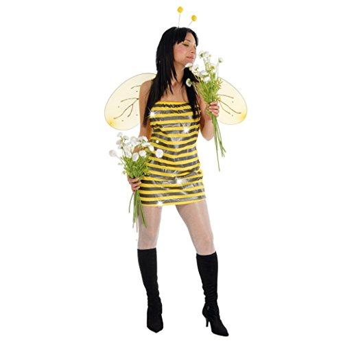 Guirca - Disfraz de Abeja para Mujer, Talla única