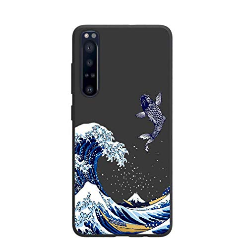 Entaifeng Sony Xperia 1 II Case, Scratch Resistant Grippy Soft TPU Rubber