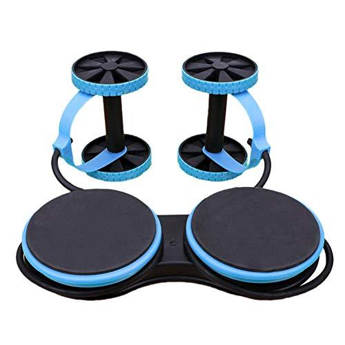 Class-Z Bauchroller AB Wheel Bauchtrainer Hochwertiger Abdominal Roller mit widerstandsbander Bauchmuskeltrainer für Frauen und Männer