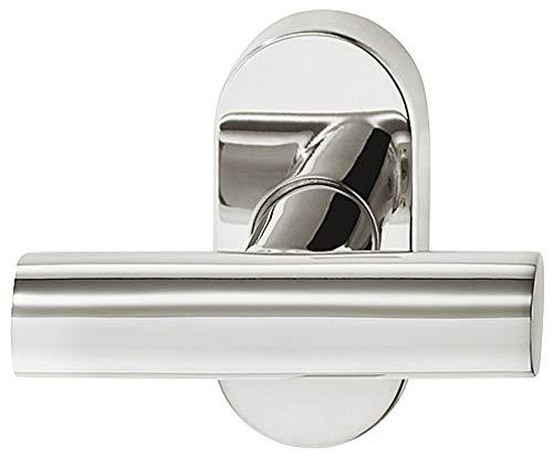 Drehkipp-Rasterolive Fenstergriff Edelstahl Fensterolive T-Form WH2110 | Fenster-Beschlag mit 90°-Rasterung für Drehkippfenster | Edelstahl PVD poliert glänzend | 1 Stück - Design-Griff für Fenster