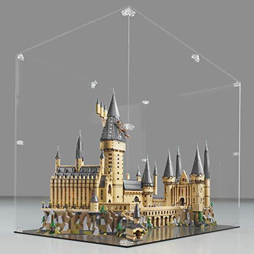 Ecometa Teca in Plexiglas - Arca®️ | Compatibile Castello di Hogwarts - Harry Potter Lego