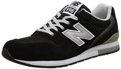 New Balance 996, Herren Sneaker, Schwarz (Black), 40 EU (6.5 UK)