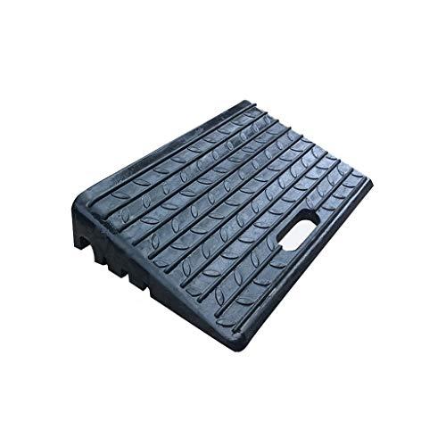 Goede kwaliteit draagbare rubberen rampen, antislip spanningshellingsoplegger outdoor-voertuig-service-opleggers afmetingen: 50 x 31 x 10 cm. 50 * 31 * 10CM