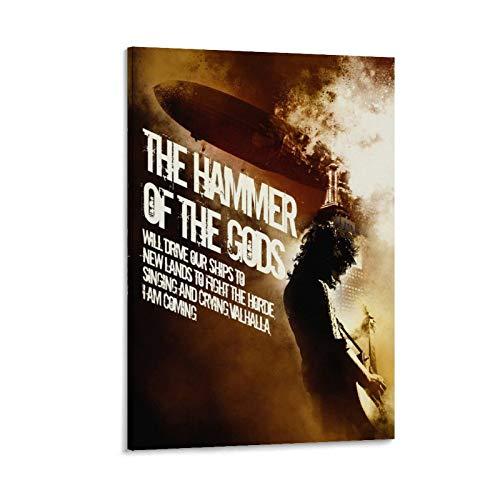 ASDJJ Hammer Of Gods 2 - Stampa artistica su tela e stampa artistica da parete, 30 x 45 cm