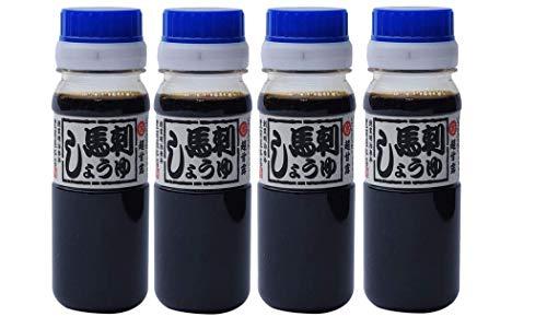 [阿蘇マルキチ醤油 豊前屋本店] 醤油 マイしょうゆ 『馬刺醤油』 80ml×4