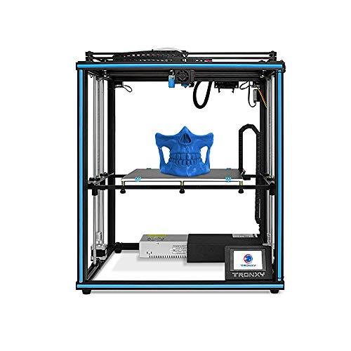 Tronxy X5SA Kit grande formato di grande formato, stampante 3D industriale ad alta precisione, bassa rumorosità, puleggia a nastro, rilevamento della rottura del materiale