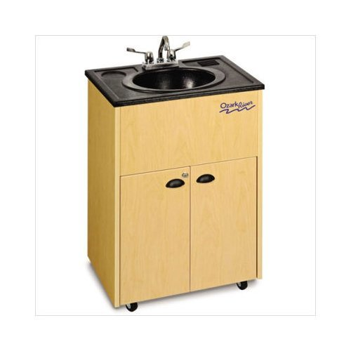 Big Sale Ozark River Portable Sink ADSTM-AB-AB1 Premier Portable Hand-Washing Station - Maple