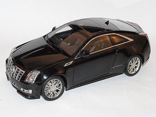 Kyosho Cadillac Cts Coupe 2010 SchwarzMaster Piece 1 18 Modell Auto mit individiuellem Wunschkennzeichen