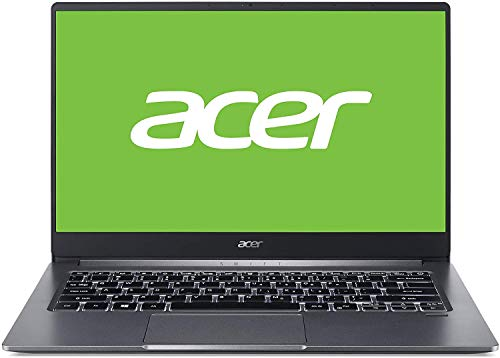 "Acer Swift 3 SF314-57 - Ordenador Portátil de 14"" Full HD con Procesador Intel Core i5-1035G1, RAM de 8GB, SSD de 256GB, Intel UHD Graphics, Windows 10 Home, Color Gris - Teclado Qwerty Español"