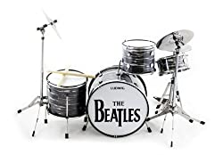 Ringo Starr Beatles Miniature Drum Set