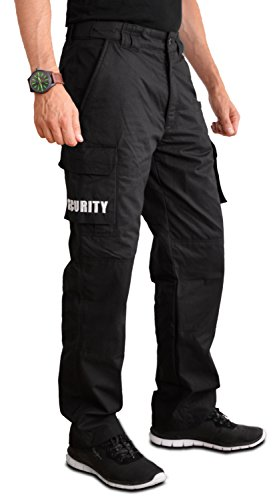 PRODEF® Security-Hose mit Level-5 Schnittschutz, abnehmbare Security-Patches