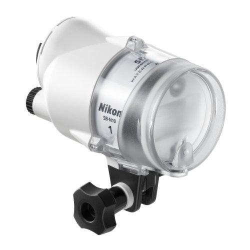Nikon SB-N10 Blanco - Flash (Blanco, 28 m, WP-N1 WP-N2 WP-N3 Nikon 1 AW1, Auto, Manual, i-TTL (Nikon), 87 mm)