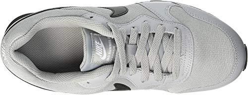 Nike Kinder MD Runner 2 (GS) Sneaker, Grau (Wolf Grey/Black/White 003), 40 EU