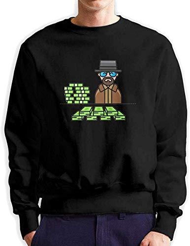 Mens Breaking Bad Drug Dealer Cartoon stilvolle Hoodies Anzug für rumhängen