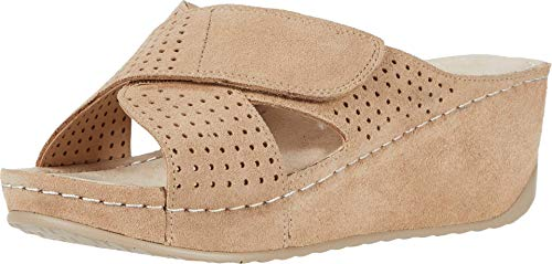 David Tate Iconic Sand Suede 10 W (D)