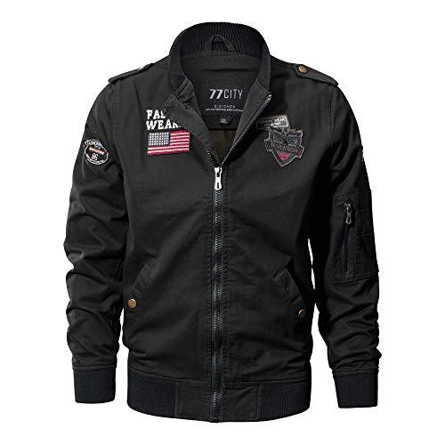 Riou Bomberjacke Winterjacke Herbst Winter Washed Baumwolle Militär Jacken Draussen Taktische Atmungsaktive Workwear Hochwertig...