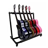 TIKALON 2020最新型 ギタースタンド 折りたたみ ユニバーサル(ギタースタンド 折りたたみ A型タイプ スタンド アコースティック/クラシック/エレキ ギター/ベース/バイオリン/ウクレレ/マンドリン などに) (C)