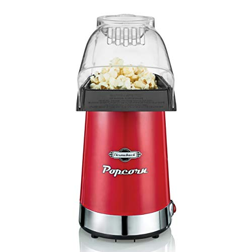 Throwback (60061) Popper Hot Air Popcorn Maker, One Size, Red