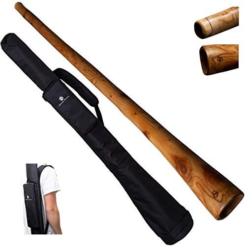 Australian Treasures - DIDGERIDOO: Mahagoni PRO 147cm inklusive Nylon Didgeridoo Tasche
