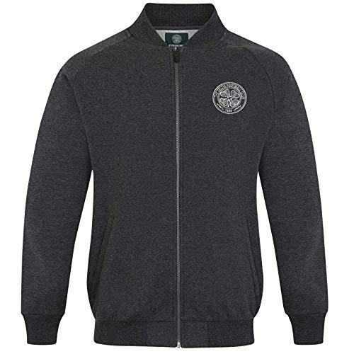 Celtic FC Official Gift Mens Retro Varsity Baseball Jacket XL