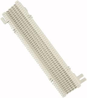 Leviton 40066-M50 Split M Block: 50-Pair (66M1-50) 10-inch H X 3-5/16-inch W X 1-3/16-inch D