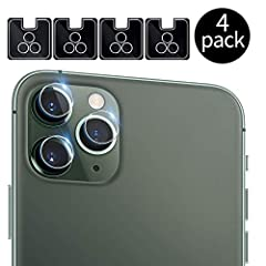 """Please note: Specially designed for iPhone 11 Pro(5.8"""")/11 Pro Max(6.5"""") only, NOT fit for any other models. Full lens protection: full coverage and perfect fit to the camera lens to protect the lens from scratches or damage. High-Definition: Ultra-h..."""