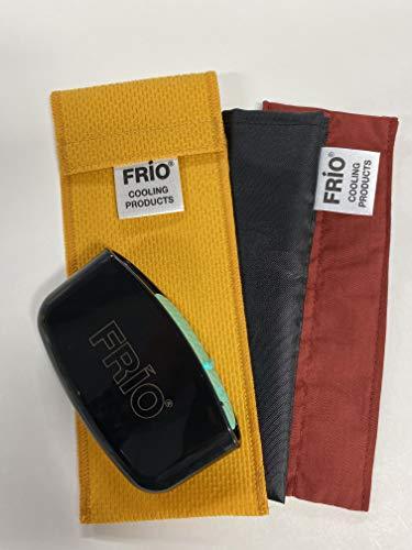 FRIO Kühltasche für 1 Pen, mit NYLON INNER Tasche, mit MySharps für gebrauchte Nadeln (TERRA COTTA)