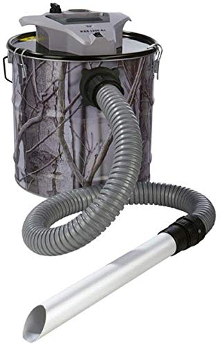 230V 1200 W 20 L BACOENG Aspirador de Cenizas con Sistema de Doble Filtraci/ón