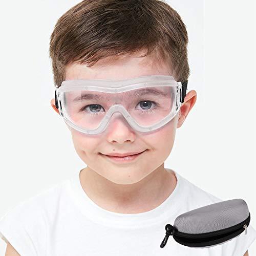 Gafas de seguridad para niños Gafas de seguridad para niños Antivaho Prevención de gotas Correa ajustable balística anti impacto para niños de 5 a 12 años